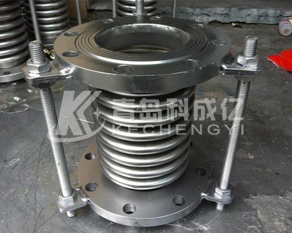 Vysoká odolnosť proti teplote vlnitý kompenzátor