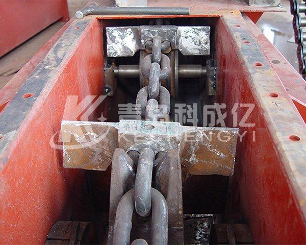 Circular chain scraper